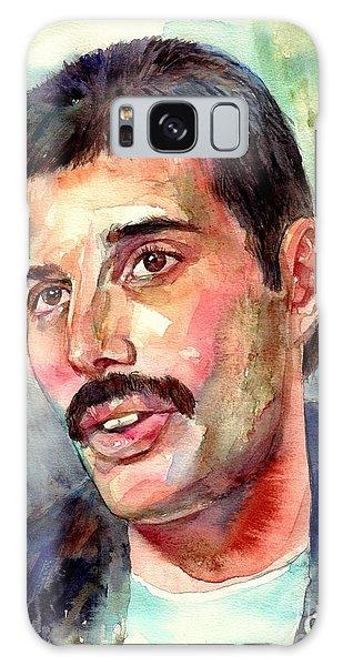 Mercury Galaxy Case - Freddie Mercury Watercolor by Suzann Sines