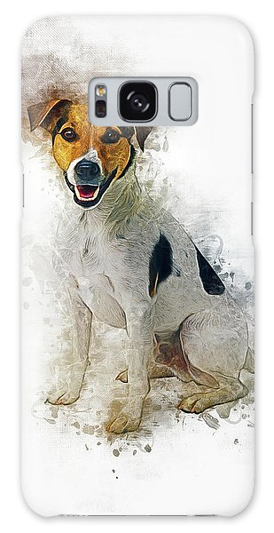 Jack Russell Galaxy Case