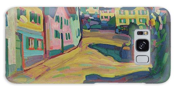 Russian Impressionism Galaxy Case - Murnau, Burggrabenstrasse 1 by Wassily Kandinsky