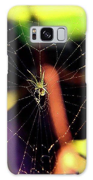 Web Of Hearts Galaxy Case