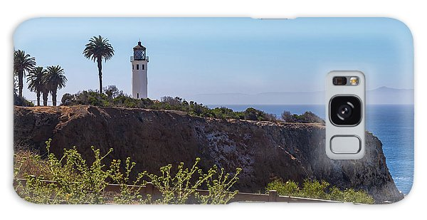 Point Vicente Lighthouse Galaxy Case