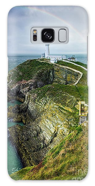 South Stack Lighthouse Galaxy Case