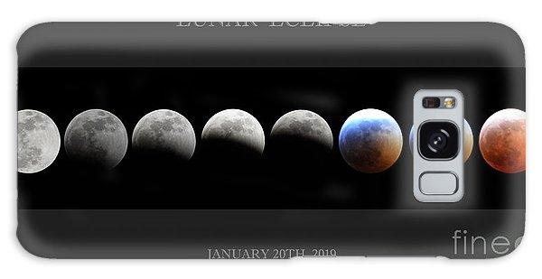 Super Blood Wolf Moon Galaxy Case