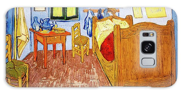 Van Gogh's Bedroom At Arles Galaxy Case