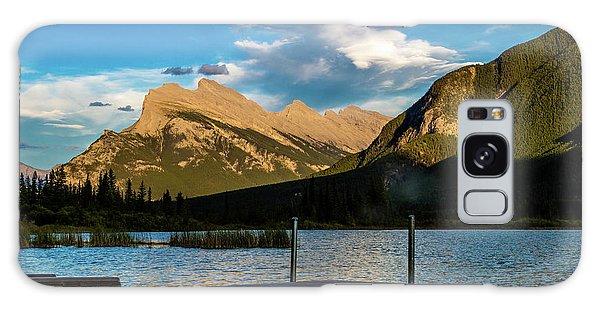 Vermillion Lakes, Banff National Park, Alberta, Canada Galaxy Case