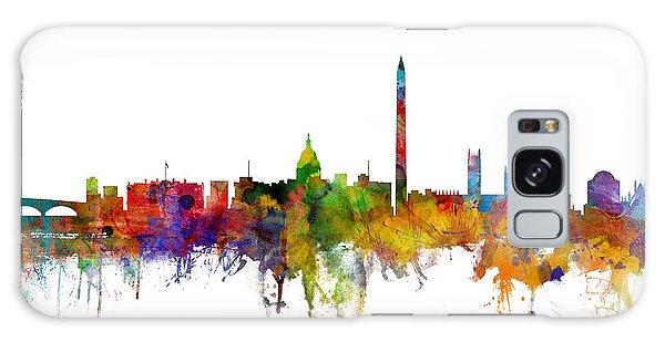 States Galaxy Case - Washington Dc Skyline by Michael Tompsett