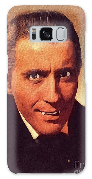 Dracula Galaxy Case - Christopher Lee, Vintage Actor by John Springfield