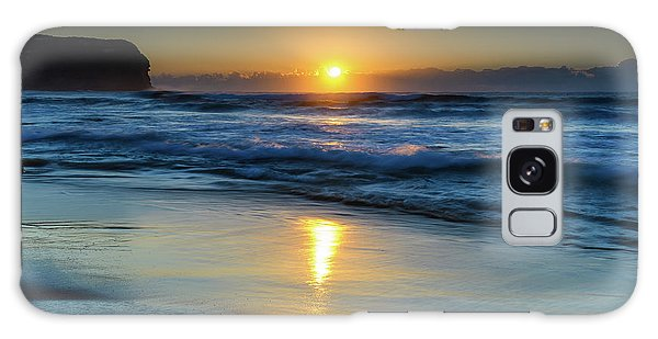 Sunrise Lights Up The Sea Galaxy Case