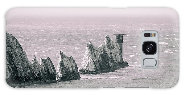 Sea Stacks Galaxy Case - The Needles by Martin Newman