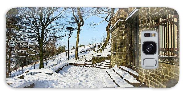 30/01/19  Rivington. Summerhouse In The Snow. Galaxy Case