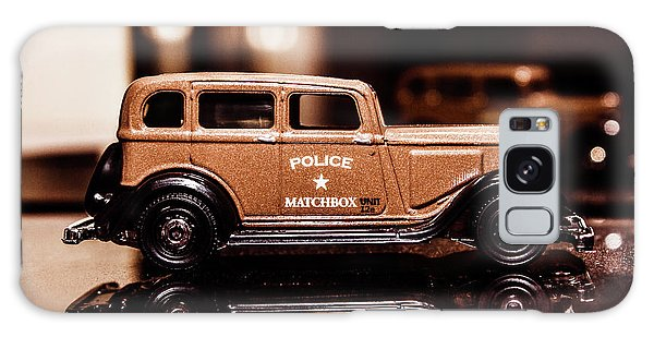 Old Car Galaxy Case - 33 Plymouth Police by Jorgo Photography - Wall Art Gallery