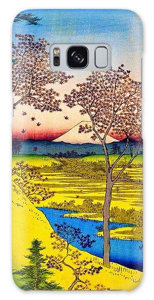 Tint Galaxy Case - 36 Views Of Mt.fuji - Yuhigaoka In The Eastern Capital - Digital Remastered Edition by Utagawa Hiroshige
