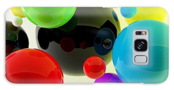 Scientific Illustration Galaxy Case - 3d Balls by Oldm