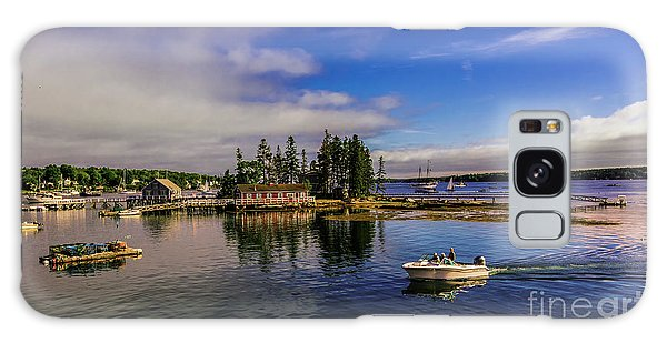 Boothbay Harbor Maine Galaxy Case