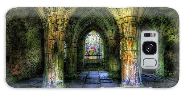 Valle Crucis Abbey Galaxy Case