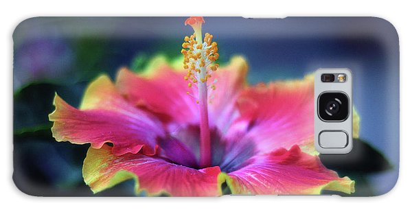 Hibiscus Galaxy Case - Hibiscus Delight by Jessica Jenney