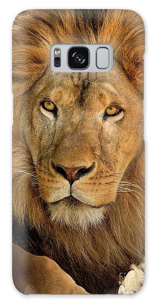 656250006 African Lion Panthera Leo Wildlife Rescue Galaxy Case