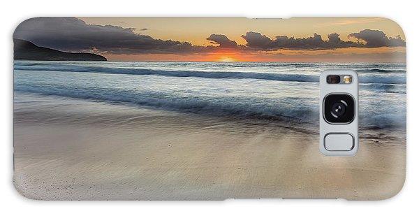 Sunrise Beach Seascape Galaxy Case