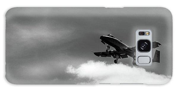 Galaxy Case featuring the photograph A-10 Slow Pass by Doug Camara