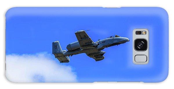 Galaxy Case featuring the photograph A-10c Thunderbolt II In Flight by Doug Camara