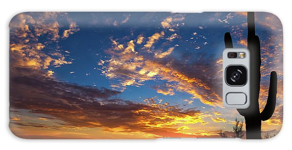 Galaxy Case featuring the photograph A Blanket Of Many Colors by Rick Furmanek