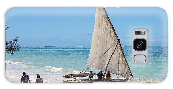 A Dhow In Zanzibar Galaxy Case