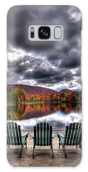 Galaxy Case featuring the photograph A Fall Day On West Lake by David Patterson