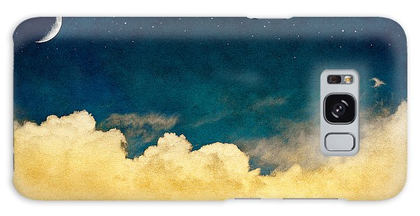 Mottled Galaxy Case - A Fantasy Cloudscape With Stars And A by David M. Schrader