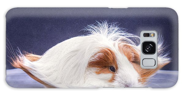 Horizontal Galaxy Case - A Guinea Pigs Hair Is Blowing In The by Ebphoto