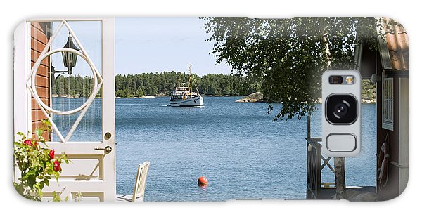Horizontal Galaxy Case - A House In Stockholm Archipelago, Sweden by Bmj