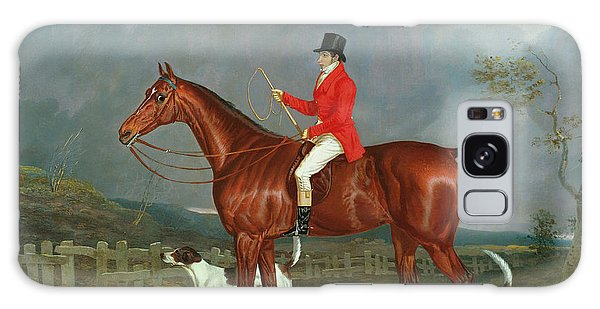 Whip Galaxy Case - A Huntsman And Hounds, 1824  by David of York Dalby