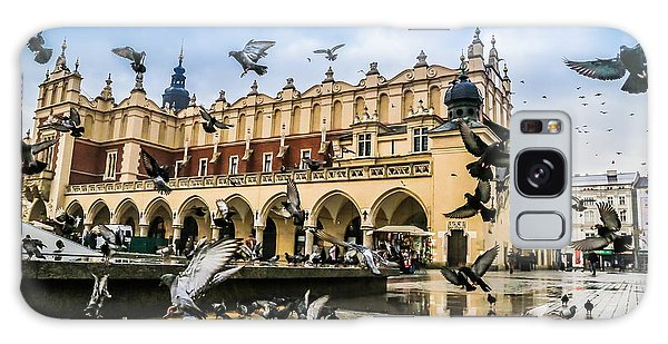 Spirituality Galaxy Case - A Lot Of Doves In Krakow Old City by S-f