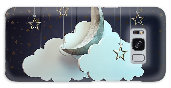 Reflections Galaxy Case - A Night Sky Theater Scene by Mopic