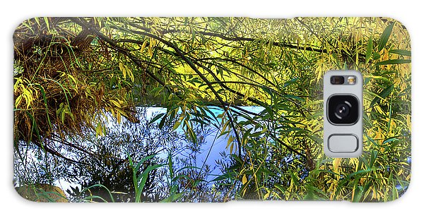 Galaxy Case featuring the photograph A Peek At The River by David Patterson