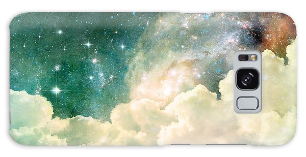 Cloudscape Galaxy Case - A Photo Based Cloudscape With Clouds by Stephanie Frey