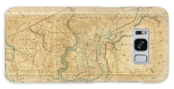 A Plan Of The City Of Philadelphia And Environs, 1808-1811 Galaxy Case