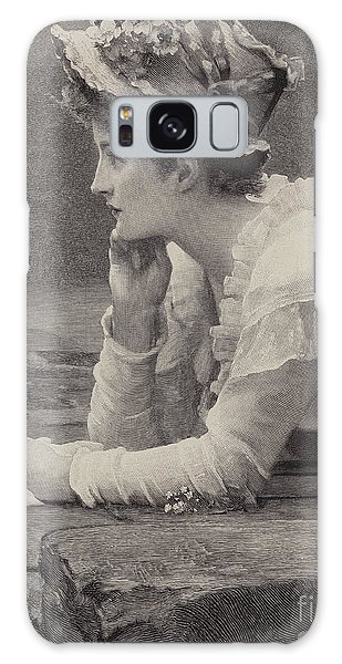 Engraving Galaxy Case - A Sailors Sweetheart by Marcus Stone