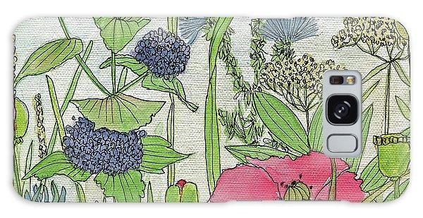 A Single Poppy Wildflowers Garden Flowers Galaxy Case