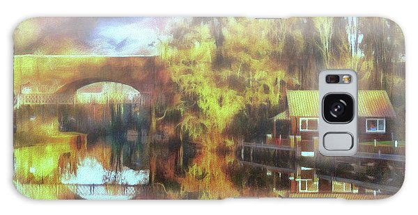 Galaxy Case featuring the photograph A Stop Along The Wey by Leigh Kemp