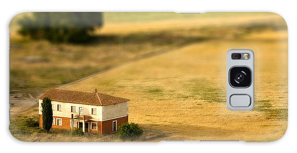 Pasture Galaxy Case - A Tilt Shifted Country House On A by Ikerlaes