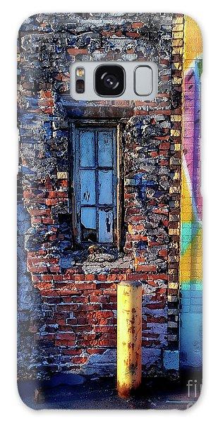 A Window Set In Bricks Galaxy Case
