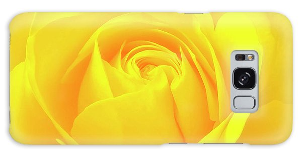 A Yellow Rose For Joy And Happiness Galaxy Case