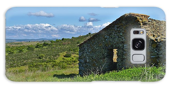 Abandoned Cottage In Alentejo Galaxy Case