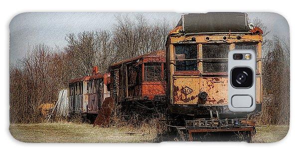 Derelict Galaxy Case - Abandoned Train by Tom Mc Nemar