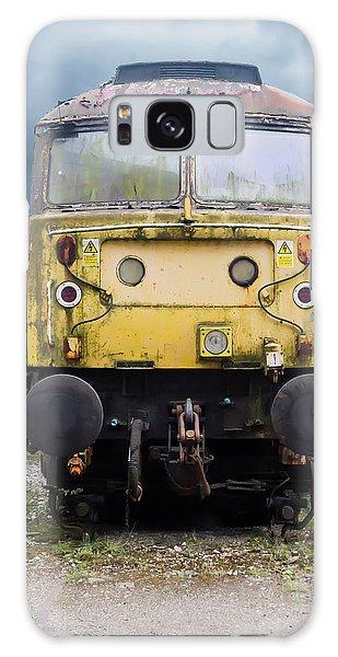 Abandoned Yellow Train Galaxy Case