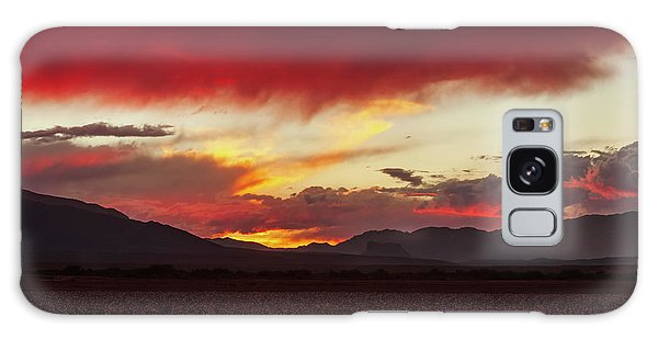 Galaxy Case featuring the photograph Ablaze by Rick Furmanek