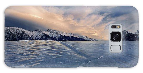 Abraham Lake Ice Wall Galaxy Case