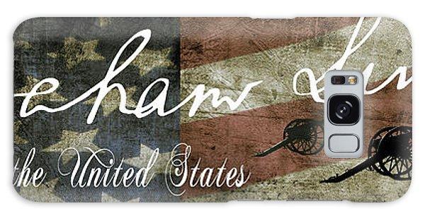 Us Civil War Galaxy Case - Abraham Lincoln Civil War Tribute Panel by Daniel Hagerman