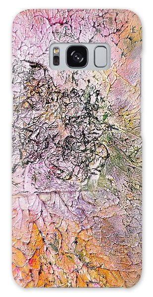 Abstract Art - The Colors Of Summer Galaxy Case