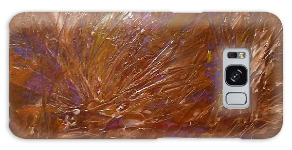 Abstract Brown Feathers Galaxy Case